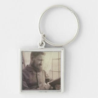 Porträt von George Bernard Shaw (1856-1950) als Y Schlüsselanhänger