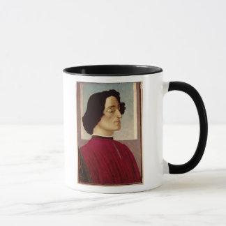 Porträt von Giuliano de Medici c.1480 Tasse