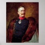 Porträt von Kaiser Wilhelm Ii Poster