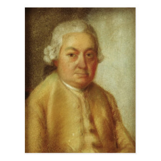 Porträt von Karl Philipp Emanuel Bach, c.1780 Postkarte