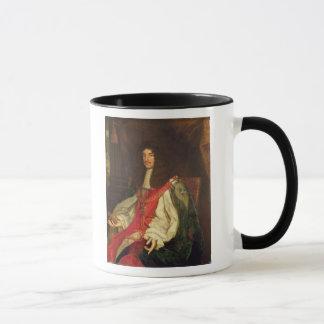 Porträt von König Charles II, c.1660-65 Tasse