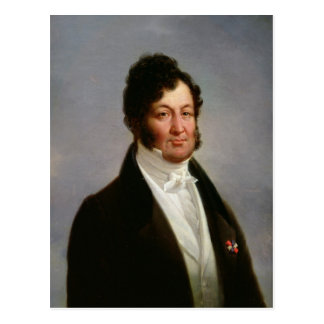 Porträt von Louis-Philippe König von Frankreich Postkarte