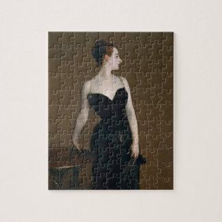 Porträt von Madame X (Madame Gautreau) durch Puzzle