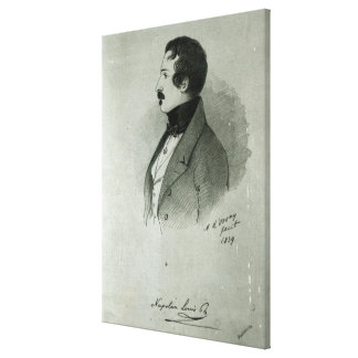 Porträt von Napoleon III als junger Mann, 1839 Leinwand Drucke