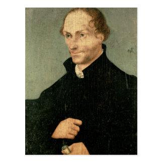 Porträt von Philipp Melanchthon, 1532 Postkarte