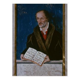 Porträt von Philipp Melanchthon Postkarte