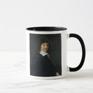 Porträt von Rene Descartes c.1649 Tasse