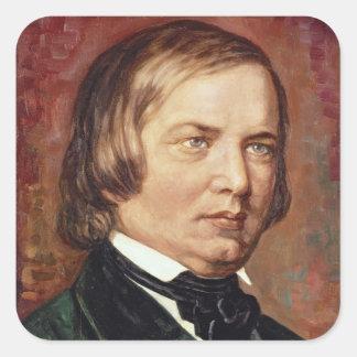 Porträt von Robert Schumann Quadratischer Aufkleber - portrat_von_robert_schumann_aufkleber-r68c7e1a219924a5db99cb2b8ab91d326_v9wf3_8byvr_324