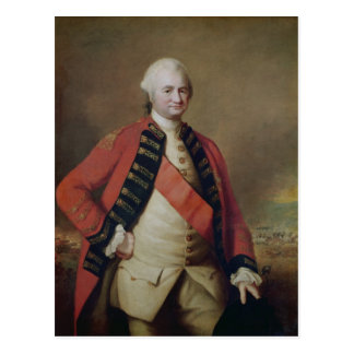Porträt von RobertClive 1. Baron Clive, 1773 Postkarte