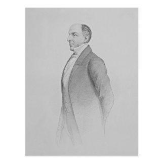 Porträt von Sir James R.G. Graham Postkarte