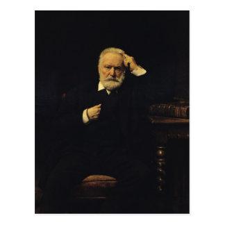 Porträt von Victor Hugo 1879 Postkarte