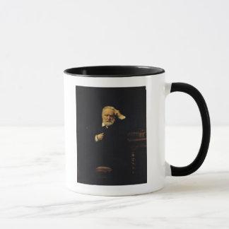 Porträt von Victor Hugo 1879 Tasse