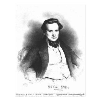 Porträt von Victor Hugo Postkarte