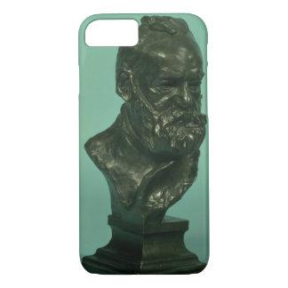 Porträtkopf von Victor Hugo (1802-85) (Bronze) iPhone 8/7 Hülle