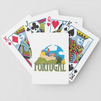 Portugal Bicycle Spielkarten
