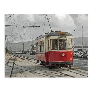 Portugal: Die Straßenbahn Sintra und Praia DAS Postkarte