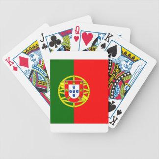 Portugal flage Entwurf Bicycle Spielkarten