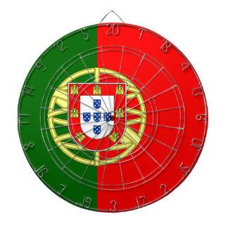 Portugal flage Entwurf Dartscheibe