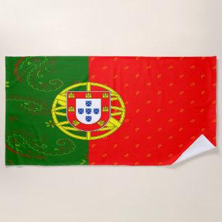 Portugal-Flaggen-Badetuch Strandtuch