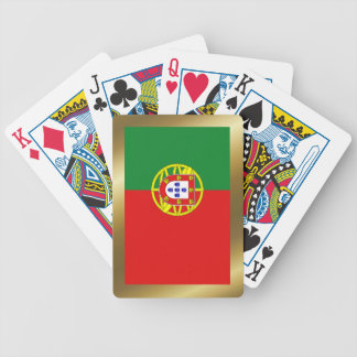 Portugal-Flaggen-Spielkarten Bicycle Spielkarten
