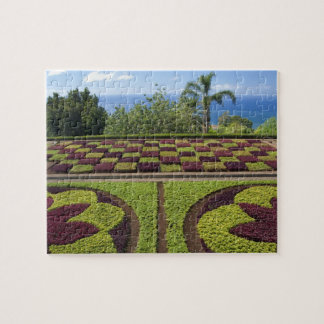 Portugal, Madeira-Insel, Funchal. Botanisch Puzzle