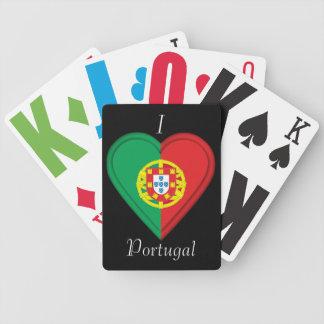 Portugal-Portugiese-Flagge Bicycle Spielkarten