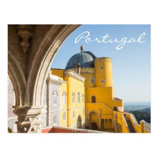 Portugal-Reise-Postkarte - Palacio DA Pena Postkarten