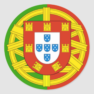 Portugal Runder Aufkleber