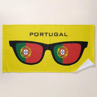 PORTUGAL schattiert kundenspezifisches Strandtuch