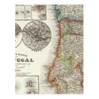 Portugal- und Verdeinseln Postkarten