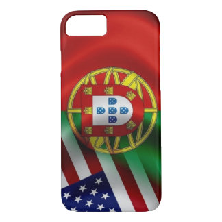 Portugal/USA Flagge Iphone iPhone 7 Hülle