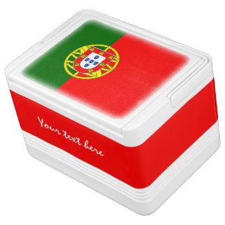 Portugiesische Flagge kann coolerer Stolz des Kühlbox