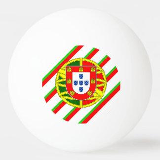Portugiesische Streifenflagge Ping-Pong Ball