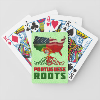 Portugiesischer Amerikaner wurzelt Kartensatz Bicycle Spielkarten
