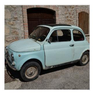 Poster Alter Fiat 500 - Fotografie