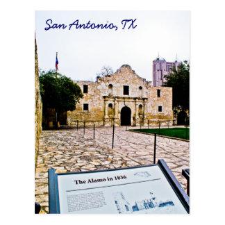 Postkarte Alamos, San Antonio