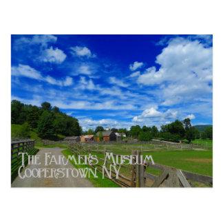 Postkarte Cooperstown New York des Bauern das