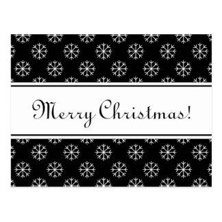 Postkarte der frohen Weihnachten mit eleganten