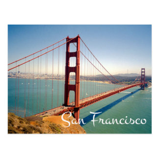 Postkarte Golden gate bridges San Francisco CA