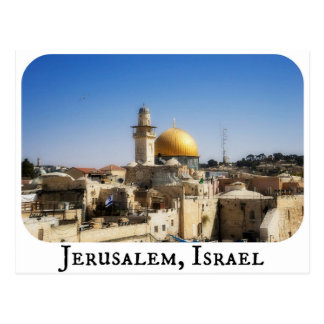 Postkarte Jerusalems, Israel