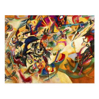 Postkarte Kandinsky Zusammensetzungs-VII