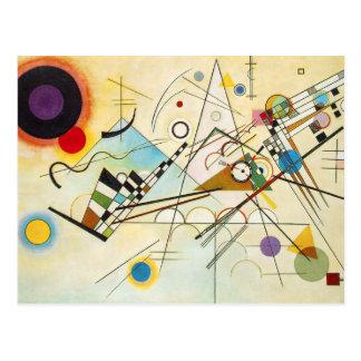 Postkarte Kandinsky Zusammensetzungs-VIII
