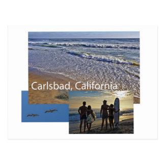 Postkarte Karlsbads Kalifornien