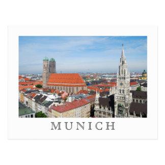 Postkarte Münchens, Deutschland