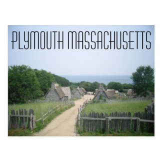 Postkarte Plymouths Massachusetts