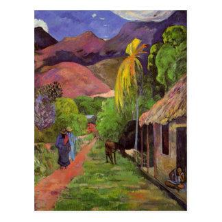 "Postkarte ""Ruedes Tahiti"" - Paul Gauguin"