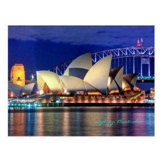 Postkarte Sydneys, Australien