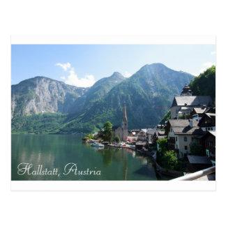 Postkarte von Hallstatt, Österreich