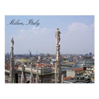 Postkarte von Mailand, Italien