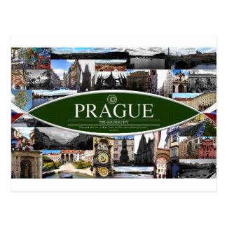 Postkarte von Prag